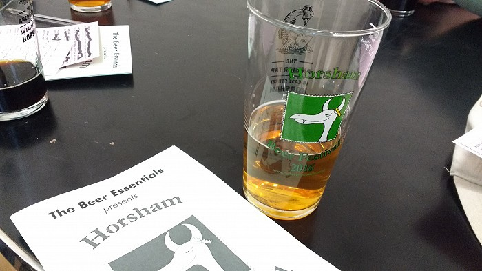 Beer Festival glass and programme