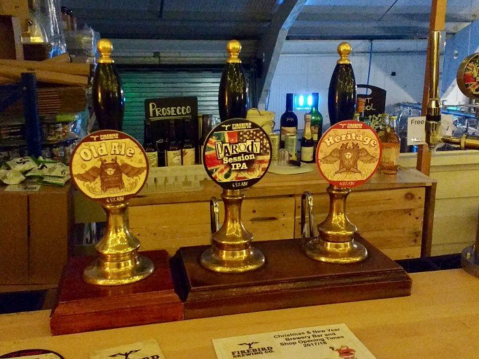 Firebird Brewery pump clips